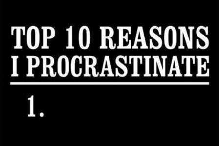 Who can persuade me to stop procrastinating or help my headache? 10 points!?